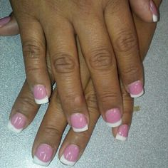 First set of pink and white free forms, I mixed that pink its like Barbie pink!!(=