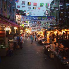남대문시장 (Namdaemun Market) in 서울특별시. Can't wait to eat some of the street food here! | http://www.liberacorp.us