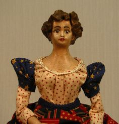 Handmade OOAK Lady Liberty Lady Patriot  Fourth of by cre8orstouch, $65.00
