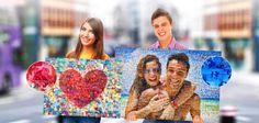 ФОТОМОЗАИКА из ваших фотографий на заказ • Оригинальный подарок • Сроки создания макета 1-3 дня • Печать на холсте • Экспресс доставка по России 1-2 дня. Источник: http://www.lidart.ru/#!fotomozaika/cane