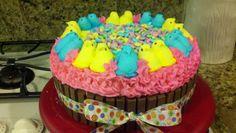 - WASC tye dye cake with mystery flavored buttercream...... ; )