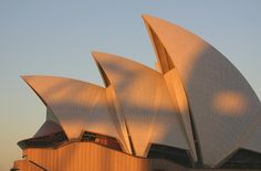 """""""Copulating Turtles: Sydney Opera House roof"""" by Flickr user Marcio S"""