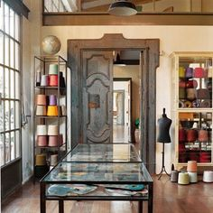 Diane and Evelyne de Clercq's atelier in Rome