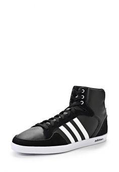 Кроссовки adidas Neo мужские. Цвет: черный. Материал: искусственная кожа, спилок. Сезон: Осень-зима 2014/2015. С бесплатной доставкой и примеркой на Lamoda. http://j.mp/1xi4dNh