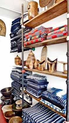 Duncan Clarke - Adire African Textiles, F015/F022 @Duncan Clarke at Alfies Antique Market