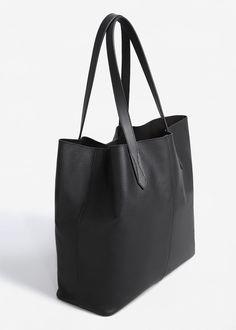 Shopper δερμάτινη τσάντα - Τσάντες for Γυναίκα   MANGO ΜΑΝΓΚΟ Ελλάδα