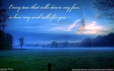 My soul calls for you..I won't give up, I'll find you Son I promise. ♥♥♥ Robbie and Mom forever ( DH )