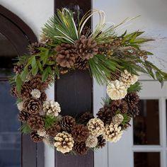 ★ハッピークリスマス&ニューイヤーリース クリスマスにはリボンをあしらったリース、新年にはお正月飾りとして、ひとつで二度楽しめるお得なリースです。$200  #kusakanmuri