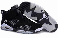 Air Jordan 6 (VI) Black/White