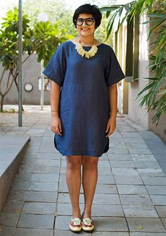 Easy breezy linen dress from bhane