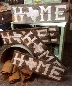 Home Texas state signs made by Leon junction country crafts -follow us on Facebook.