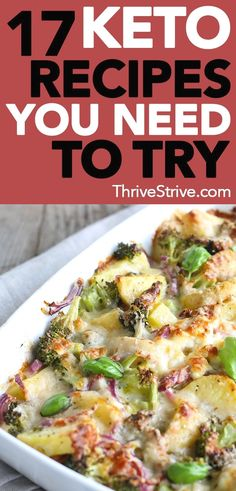 When you're on the ketogenic diet, you might need some recipes that will help you through it. Here are 17 keto recipes that are going to make you forget you're dieting. recipes 17 Keto Recipes That'll Make You Forget You're On a Diet Ketogenic Diet Plan, Ketogenic Diet For Beginners, Diet Plan Menu, Recipes For Beginners, Ketogenic Recipes, Diet Recipes, Healthy Recipes, Low Carb Recipes, Atkins Diet