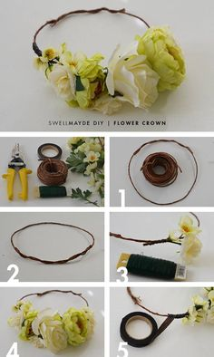 This activity helps one express themselves through intertwining beauty and art. Needed are flowers, scissors, a rope and tape. In no time you will be able to rock the flower crown and totally blossom in all your glory! Take the rope and form it into a circle using scissors as needed. Then attach the flowers to the front as you see fit!