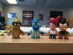 Glorious Golden Bender and Alternate Universe Zoidberg, Leela & Fry