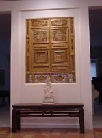Perfect fit on all fronts...in the space allocated and also aesthetically. Purchased from www.antiquesbyzaar.com