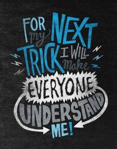 #UnderstandMe