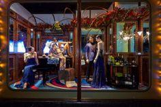 """Escaparates de Navidad 2013 (III): Londres, un """"estallido"""" de luces y emociones #holidaydisplay #escaparates #Navidad #Christmas #London #Harrods"""