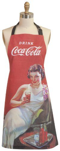 Coca- Cola Presented by Now Designs Basic Apron, Evening ...