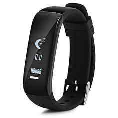 #Zapals - #Zapals P1 Waterproof Bluetooth Smart Bracelet Heart Rate Blood Pressure Monitor Pedometer - AdoreWe.com