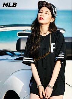 Miss A's Suzy Endorses Fashion Brand MLB | Koogle TV