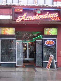 New Amsterdam Cafe, Vancouver British Columbia