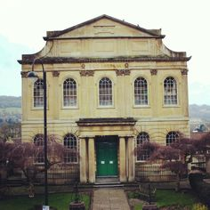 Architecture in Bath Spa, South West England