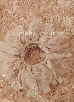 Vintage newborn tutu, lace tutu, photography prop, vintage prop. $40.00, via Etsy.