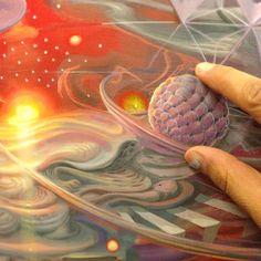 Stunning 3D Paintings by Mario Martinez aka MARS-1. |FunPalStudio| Art, Artist, Artwork, Illustrations, Entertainment, beautiful, creativity, painting, drawings, digital art, Technology.