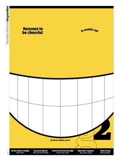 Guardian g2 cover: Reasons to be cheerful.