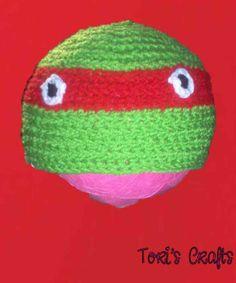 Toddler+TMNT+Raphael+Hat