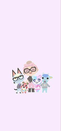 Hand Drawn Animal Crossing Wallpaper