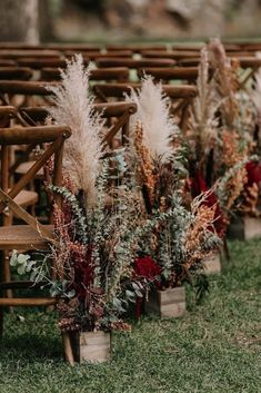 Fall Wedding Flowers, Boho Wedding, Rustic Wedding, Wedding Ceremony, Dream Wedding, Wedding Day, Wedding Hacks, Fall Wedding Decorations, Perfect Wedding