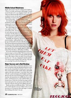 Another Hayley Williams hair pic♥