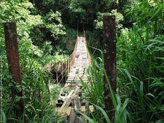 Kotmale Footbridge, Sri Lanka