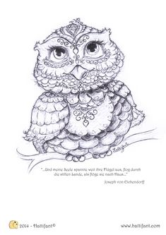 Being up with the owls » Hattifant