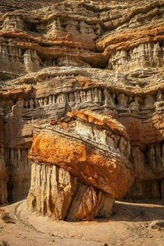 Photo by Greg Clure. Unbelievable to see in a photo! Would really love to see this in real life! Geological rock formations found in nature are some of the most spectacular sights there are. What A Wonderful World, Beautiful World, Beautiful Places, Foto Nature, Nature Landscape, Rock Formations, Natural Wonders, Natural World, Amazing Nature