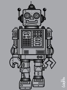 Robots, again possible tattoo idea.