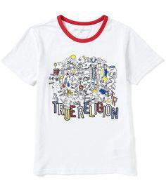 True Religion Big Boys 8-20 City Graphic Short-Sleeve Tee