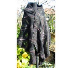 Felt ShawlNuno Felt ShawlFelt Wrap ShawlAU Merino Wool by RumiWay, $69.00