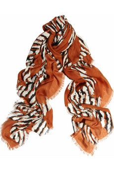 Burberry - printed modal and cashmere-blend scarf