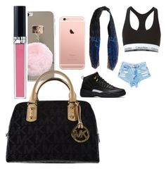 """""""gang meeting"""" by pettyallthe on Polyvore featuring beauty, Calvin Klein Underwear, Christian Dior and Michael Kors"""