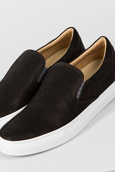 Wings + Horns leather slip-ons #shoes