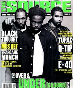 Mos Def, Black Thought and Pharoahe Monch