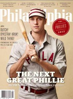 Hunter Pence magazine cover 2012