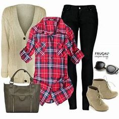 Image result for Flannel Outfits