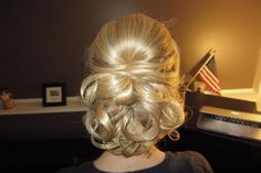 Love this! Possible hair style for Angela's wedding?