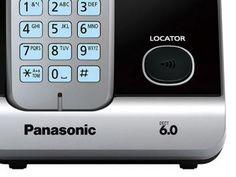 Telefone Sem Fio Panasonic Até 6 ramais - Identificador de Chamadas KX-TG6713LBB Viva Voz