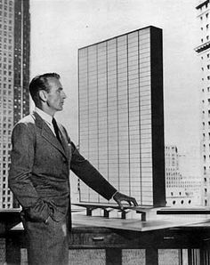 Gary Cooper as Howard Roark in the film adaptation of Ayn Rand's The Fountainhead.