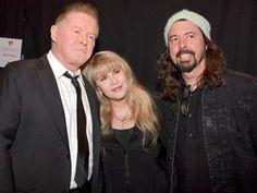 Don Henley, Stevie Nicks, Dave Grohl
