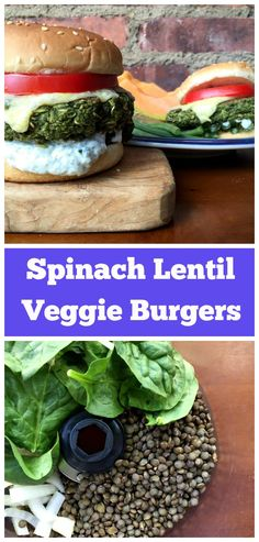 These healthy and easy veggie burgers are packed with flavor. Made with lentils…